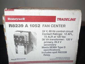 Honeywell R8239a1052 Spdt Switching Relay New In Box Free Shipping