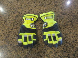 Ringers Gloves 911 Rescue Firefighter Extrication Emergency S 8 Barrier 1 Esg