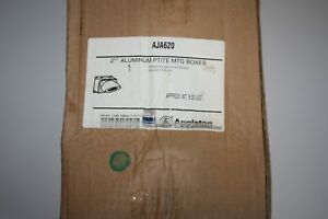 New Appleton Pin sleeve 200 amp Receptacle Angle Back Box 200a Aja620