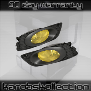 2012 Civic Si Dx Lx Ex Sedan Amber Lens Fog Lights Jdm Factory Replacement