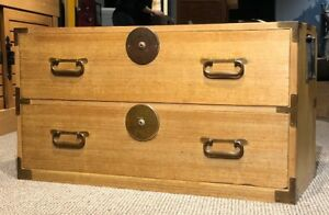Japanese Antique Han Tansu Clothing Chest