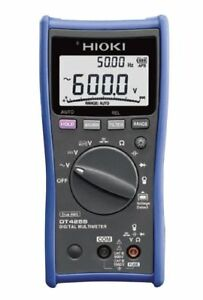 Hioki Dt4255 Digital Multimeter With Fuse protected Terminals Ideal