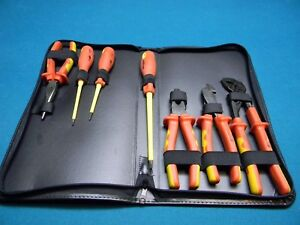 Westward Tools Electrical Electricians Insulated Tool Set 7 Piece 1000v 1yxj6