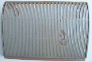 Vintage Original Ford Fairland Etc Dash Radio Speaker Grille 1955 1956
