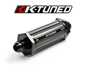 K Tuned Inline Universal Fuel Filter 6an E 85 Compatible Ktd Ff 06