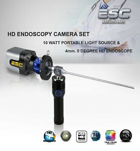 Endoscopy Camera Rigid Endoscope Led Cold Light Source Ent Hd Olympus Storz