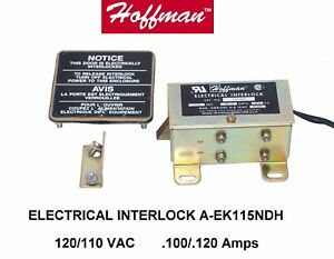 hoffman A ek115ndh Safety Electrical Interlock Door cabinet Lock 10 Leads