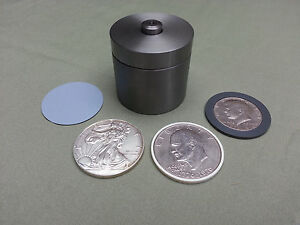 1 2 Coin Ring Center Punch Set For American Silver Eagle 2 Spacers