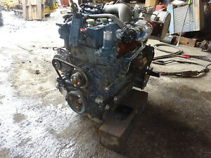 Kubota V3307 t Diesel Engine Runs Exc Turbo V3307t Bobcat Cat Skid Steer