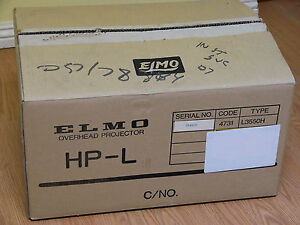 New Old Stock Elmo Hp l 3550h Overhead Projector Hp L3550h