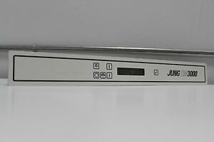 Leica Jung Crostat Microtome Cm3000 Digital Control Display Face Plate