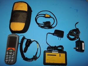 Honeywell Dolphin 7600 Handheld Terminal Mobile Computer Power Charger Case Comm