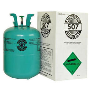 507 Refrigerant R507 Cylinder 25lb Hfc R 22 Alternative