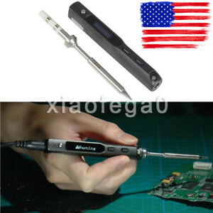 65w Ts100 Ts b2 Mini Portable Programmable Electric Soldering Iron Digital Oled