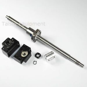 1pc Anti Backlash Ballscrew Rm1605 750mm c7 1 Set Bk bf12 coupler Stored In Us