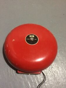 Simplex Fire Alarm Large Bell 4070 6