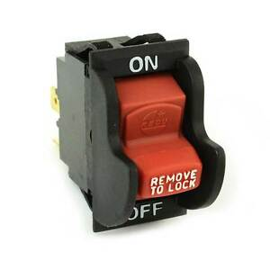 Aftermarket On off Toggle Switch For Delta 489105 00 Ridgid Ryobi 46023