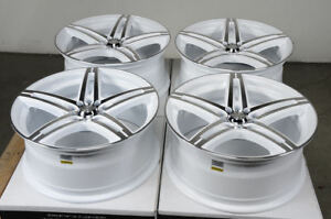 17x7 5 White Wheels Fits Honda Accord Civic Toyota Camry Matrix Rav4 Rims