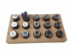 1 16 5 8 Er25 15 Piece Spring Collet Set 3900 5235