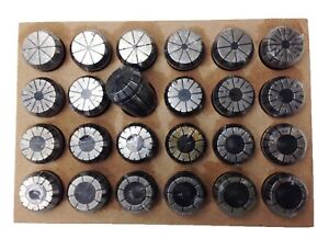 1 8 1 Er40 24 Piece Spring Collet Set 3900 5299