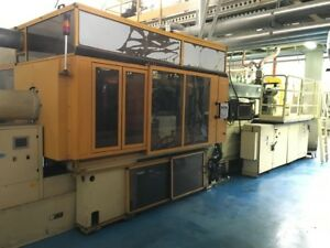 2005 2006 Husky Hypet 225 Injection Molding Machine With 48 Cavity Mold
