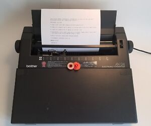 Brother Ax 24 Typewriter Electronic Word Spell Tested Extra Correcting Tape
