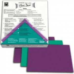 Coltene Whaledent Inc H09946 Flexi Dam Non Latex Green 6x6 Med 30 bx