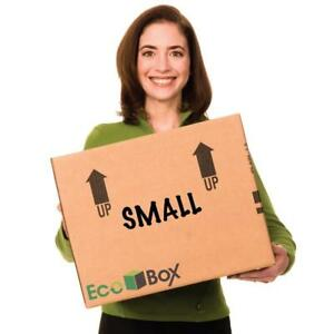 Ecobox Small Moving Boxes Genuine Size 16 X 12 X 12 Inches Pack Of 15 v 6823