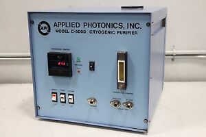 Applied Photonics C 5000 Cryogenic Laser Gas Purifier Temperature Control 110vac