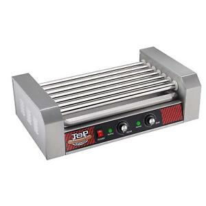 Hot Dog Grilling Machine 1400w Cooker 110v Stainless Steel Roller Counter Top