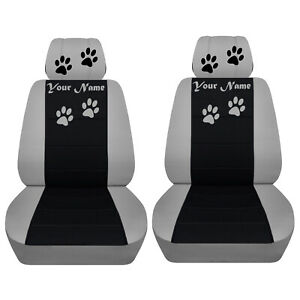 Car Suv Seat Covers 2014 2019 Jeep Cherokee Front Seat Paw Prints Abf