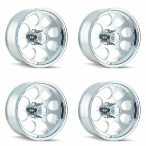 Set 4 16 Ion 171 Polished Wheels 16x8 6x5 5 5mm Lifted 6 Lug Chevy Gmc 6 Lug