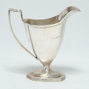 Vintage Sterling Silver Creamer By Watson Silver Co