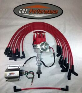 Ford 351c 351m 400 429 460 Small Hei Distributor Kit Red Use With Roller Cam