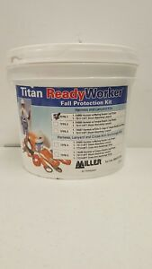 Miller Titan By Honeywell Tfpk 5 xl 6ftak Ready Worker Fall Protection Kit