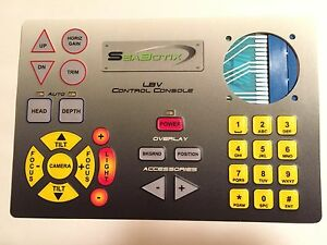 Seabotix Lbv Control Console Membrane Switch Overlay Ccl202 Touch Screen 201424