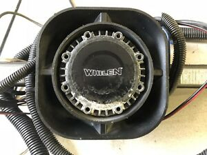 Whelen Sa315p Siren Speaker With Mounting Bracket And Strobe Lights