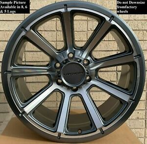 4 New 18 Wheels Rims For Chevrolet Suburban 1500 Tahoe Chevy 6927