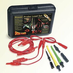 Car Diagnostic Combo Kit Power Probe Lead Tester Tool Set Wire Piercing 10 Gauge