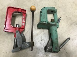 Nice Clean RCBS JR3 Reloading Press And LEE Reloading Press Great Condition!!!!!