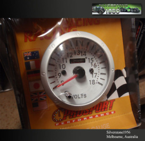 Prosport Gauge 2 3 8 60mm Voltmeter Meter 7 Colour 60 52m Match Your Dash Car
