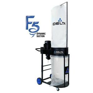 Delta 1 1 5 Hp Dust Collector Woodworking Wood Shop Filtration Equipment Filter
