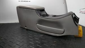 2001 Ford Expedition Front Center Floor Console Arm Rest W Storage Compartment