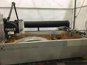 Omax 55100 Cnc Waterjet Jetmachining Center