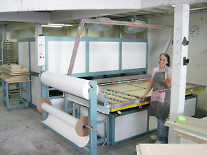 Zmd Vacuum Forming Machine 57x102 For Thermofoil Doors