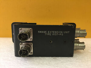 General Radio 1607 p5 Range Extension Unit For 1607 a Bridge Tested