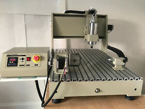 6040 1500w 4 Axis X y z A 3d Cnc Router Engraver Milling Machine Local Pickup