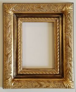 Picture Frame 5x7 Vintage Chic Antique Style Baroque Gold Ornate W Glass 6482