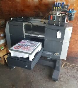 Amica Systems Nuvijet Ts 1517 Industrial Direct to garment Inkjet Printer