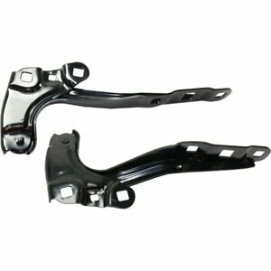 New Hood Hinges Set Of 2 Driver Passenger Side Chevy Gm1236188 Gm1236189 Pair